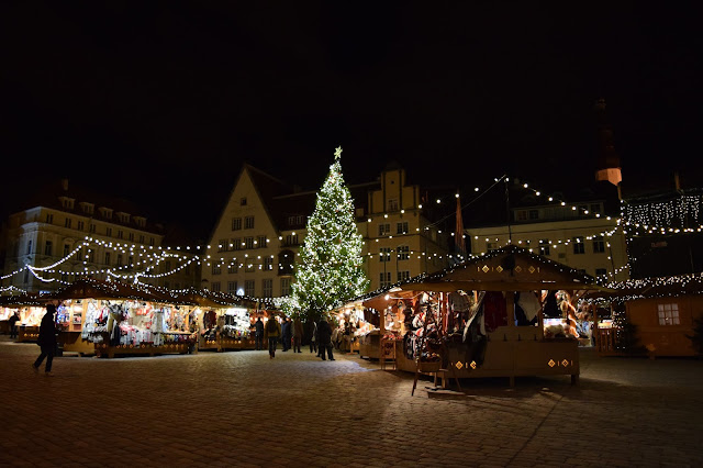 Tallinn, Estonia's 2016 Christmas market in old town