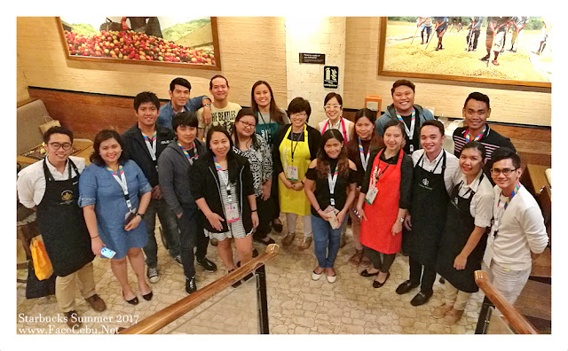 Cebu Bloggers Society Members and Media during private preview of Starbucks Summer 2017 offerings
