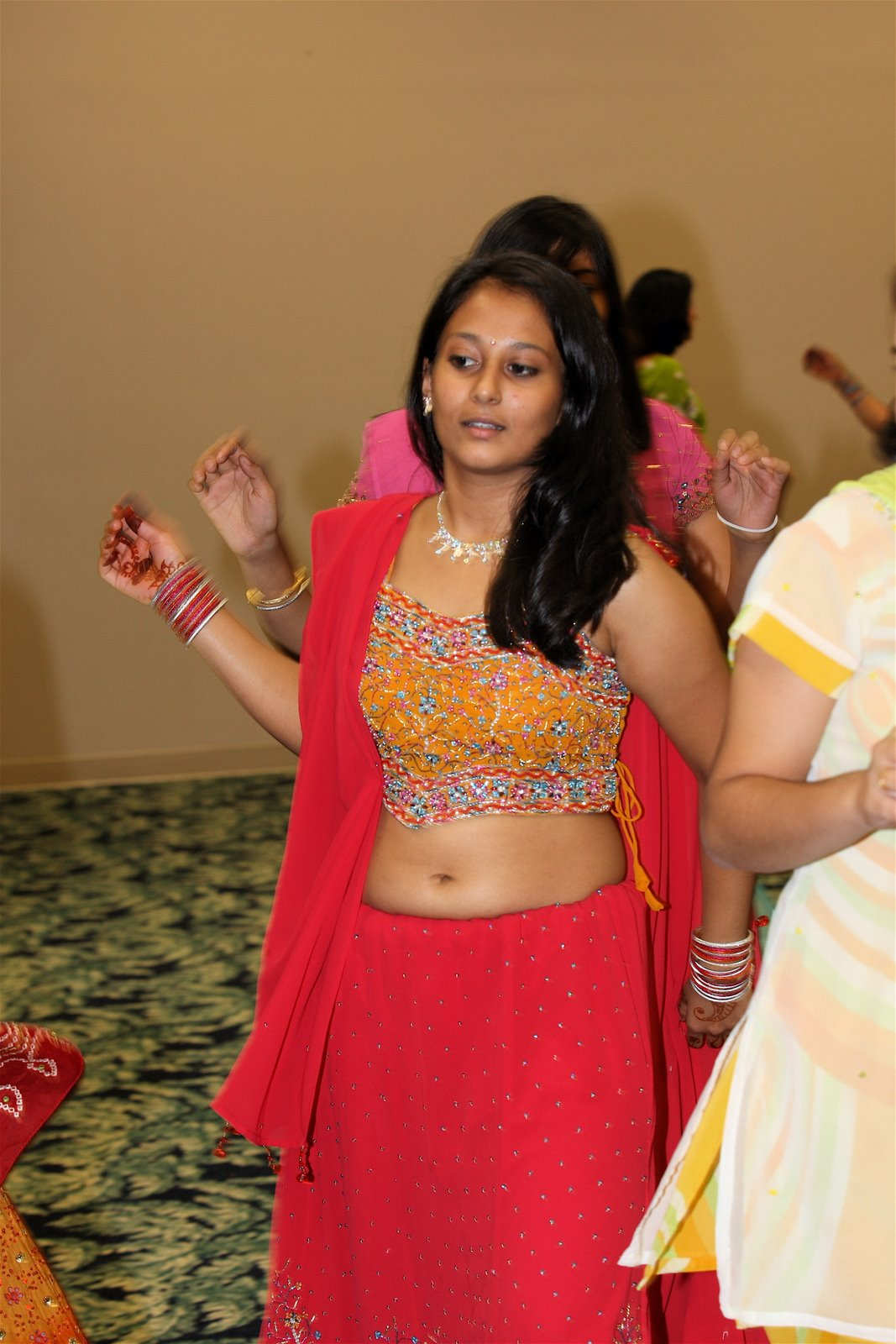 Life Of Navel  Dancing Girls Hot Navel-5110