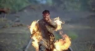 shah rukh khan fire stunt in koyla