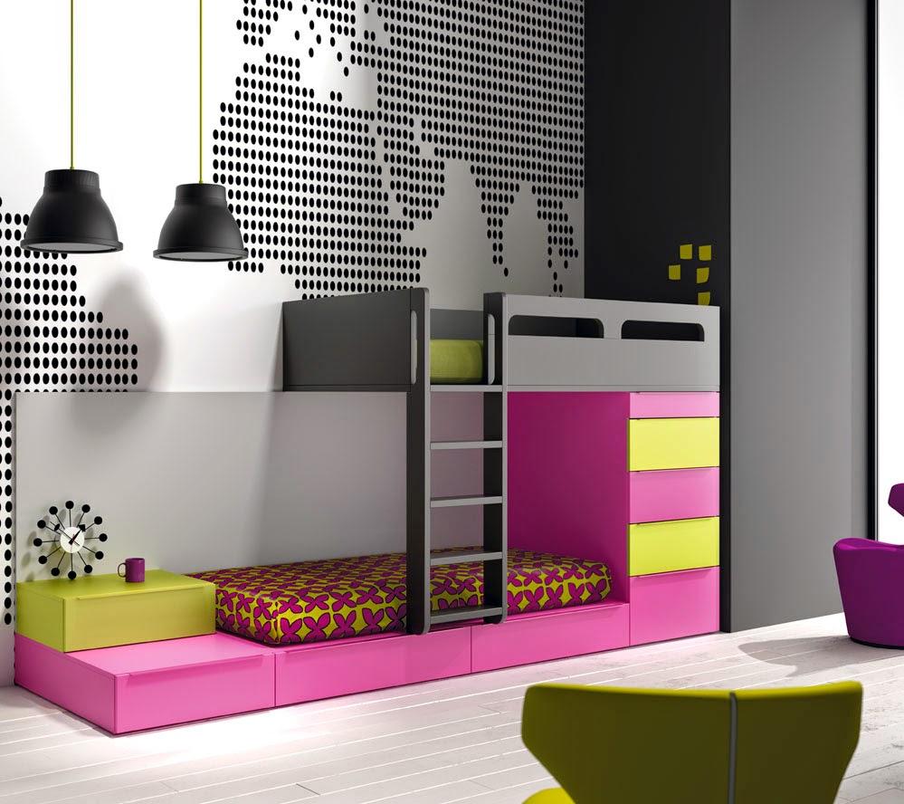 Amueblar habitaciones juveniles modernas - Camas juveniles modernas ...