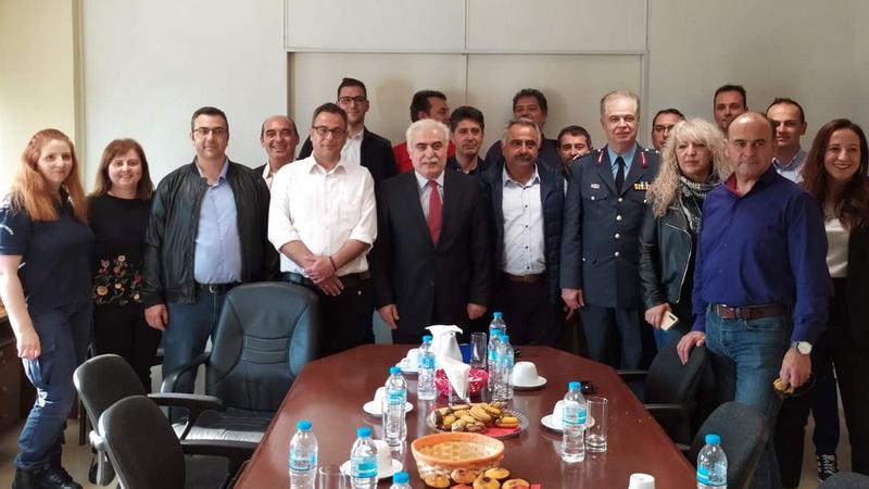Συναντήσεις αστυνομικών της Αλεξανδρούπολης με την Υπουργό Προστασίας του Πολίτη και τον Αρχηγό της ΕΛ.ΑΣ.