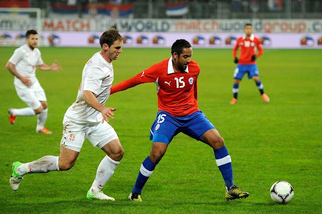 Chile y Serbia en partido amistoso, 14 de noviembre de 2012