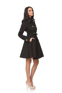 Palton de dama evazat – Ama Fashion