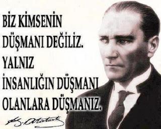 Atatürk'ü Öteleyip Kötüleyenler Atatürk Düşmanları