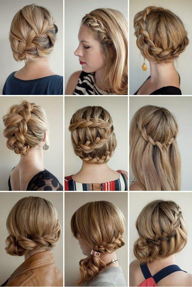 Peinados Novedosos Con Trenzas - 6 hermosos estilos de trenzas para Peinados espectaculares