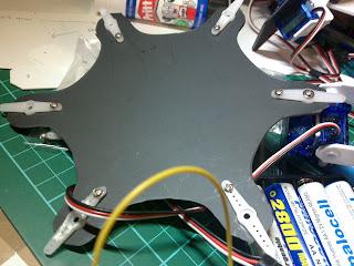 Arduino Hexapod Robot - base