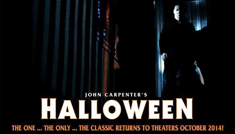 John Carpenter S Halloween Returns To Theaters October 2014 Halloween Daily News