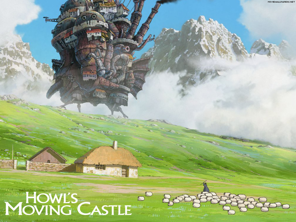 Movie Time....: Howl's Moving Castle ハウルの動く城
