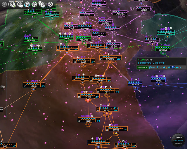 Empires Map | Endless Space Game Screenshot