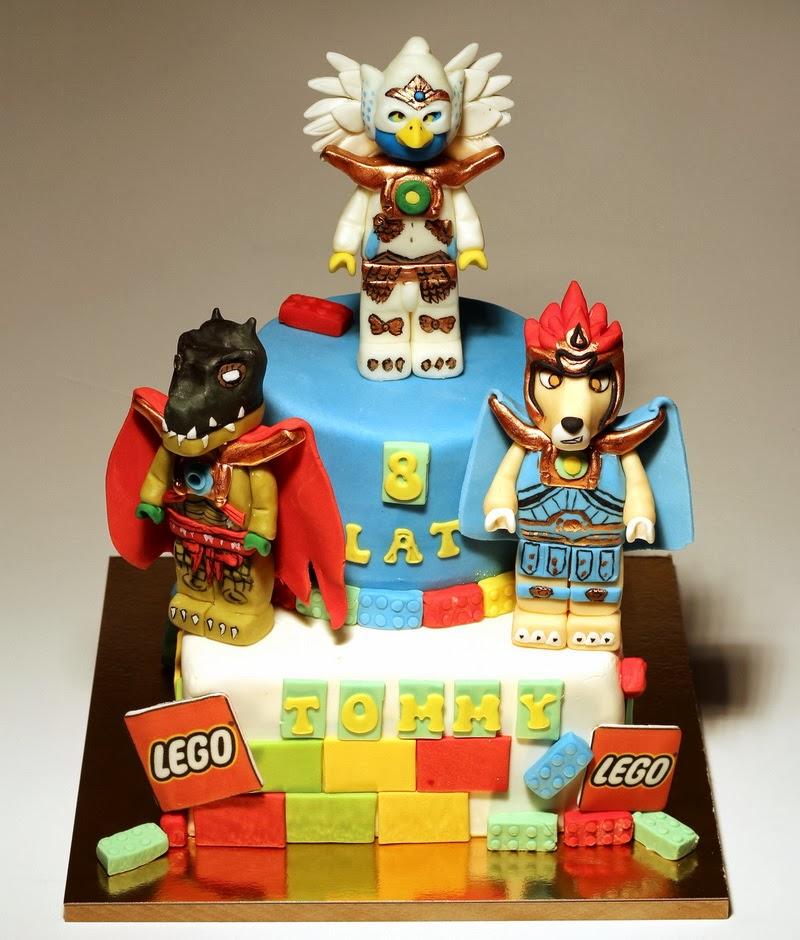 Lego Chima Birthday Cake Ideas