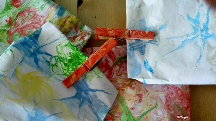 manualidad-papel-marmolado