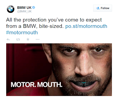 BMW April Fools 2015 Motor Mouth tweet