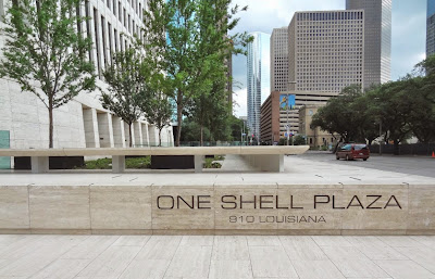 One Shell Plaza (Office tower) Louisiana St in Downtown Houston TX