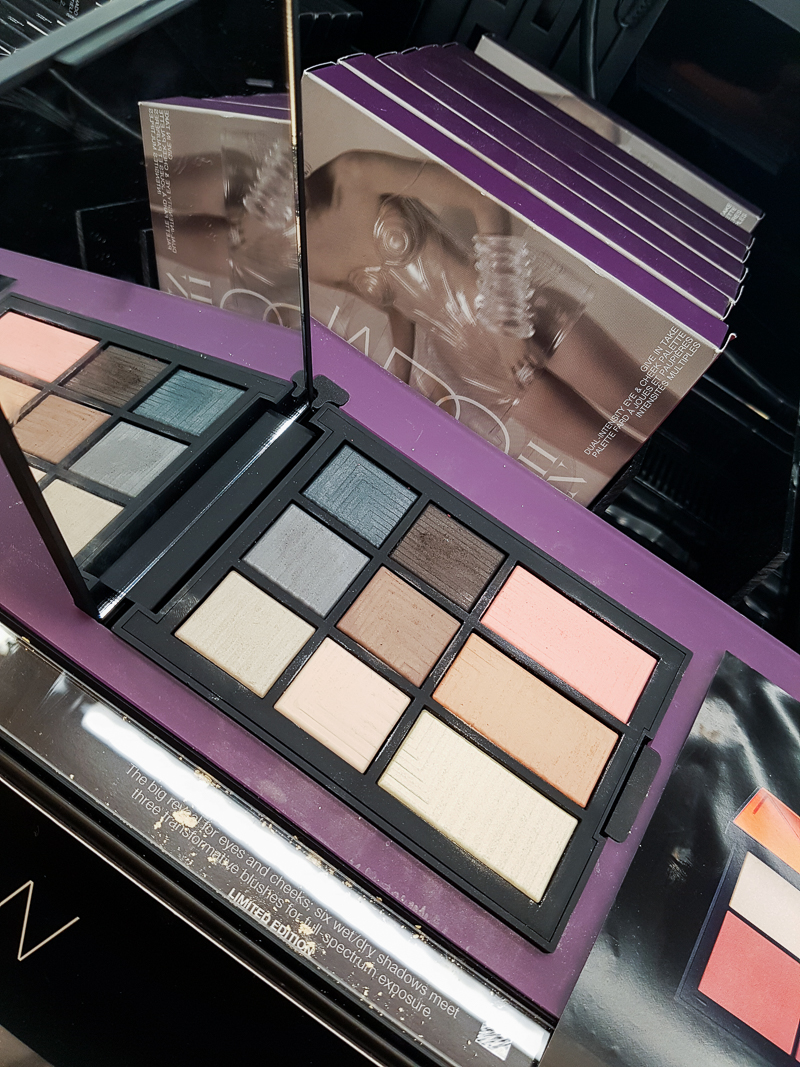 NARS Give In Take Dual-Intensity Eye and Cheek Palette - Swatches - Sarah Moon Holiday Gifting Collection