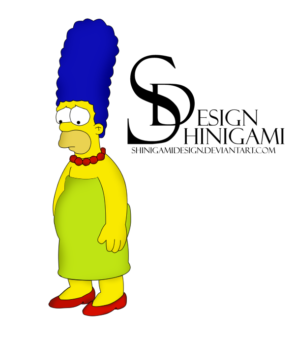 Homer Simpson - Render by ShinigamiDesign