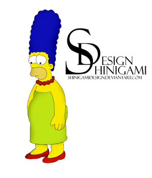 TV | FAMILY RENDERS: HOMER SIMPSON - RENDER BY SHINIGAMIDESIGN