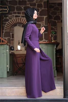Ala Kadın'dan Pınar Şems Tesettür tulum modelleri