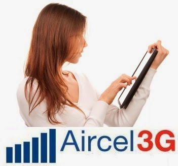 Aircel Unlimited 3G Internet For PC/Mobile at 0 Balance
