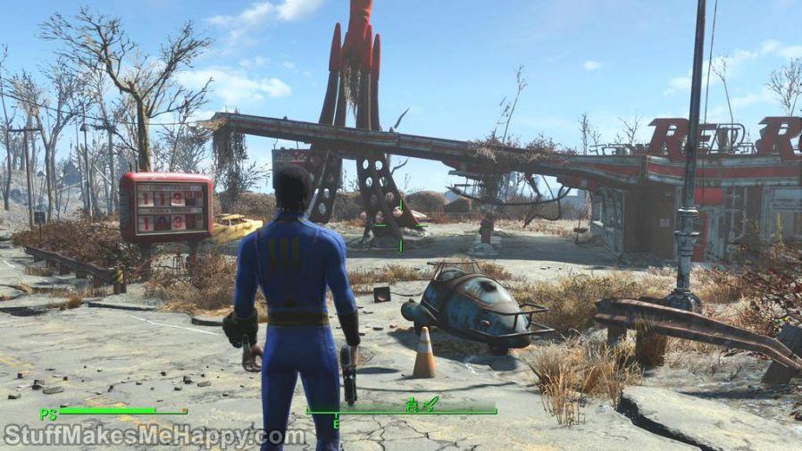 8. Fallout (1997) and Fallout 4 (2015)