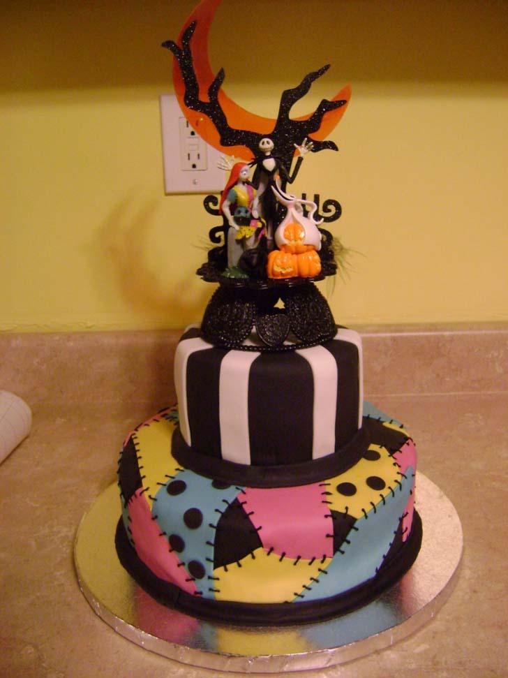 5 Nightmare Before Christmas Wedding Cake Cake Magazine