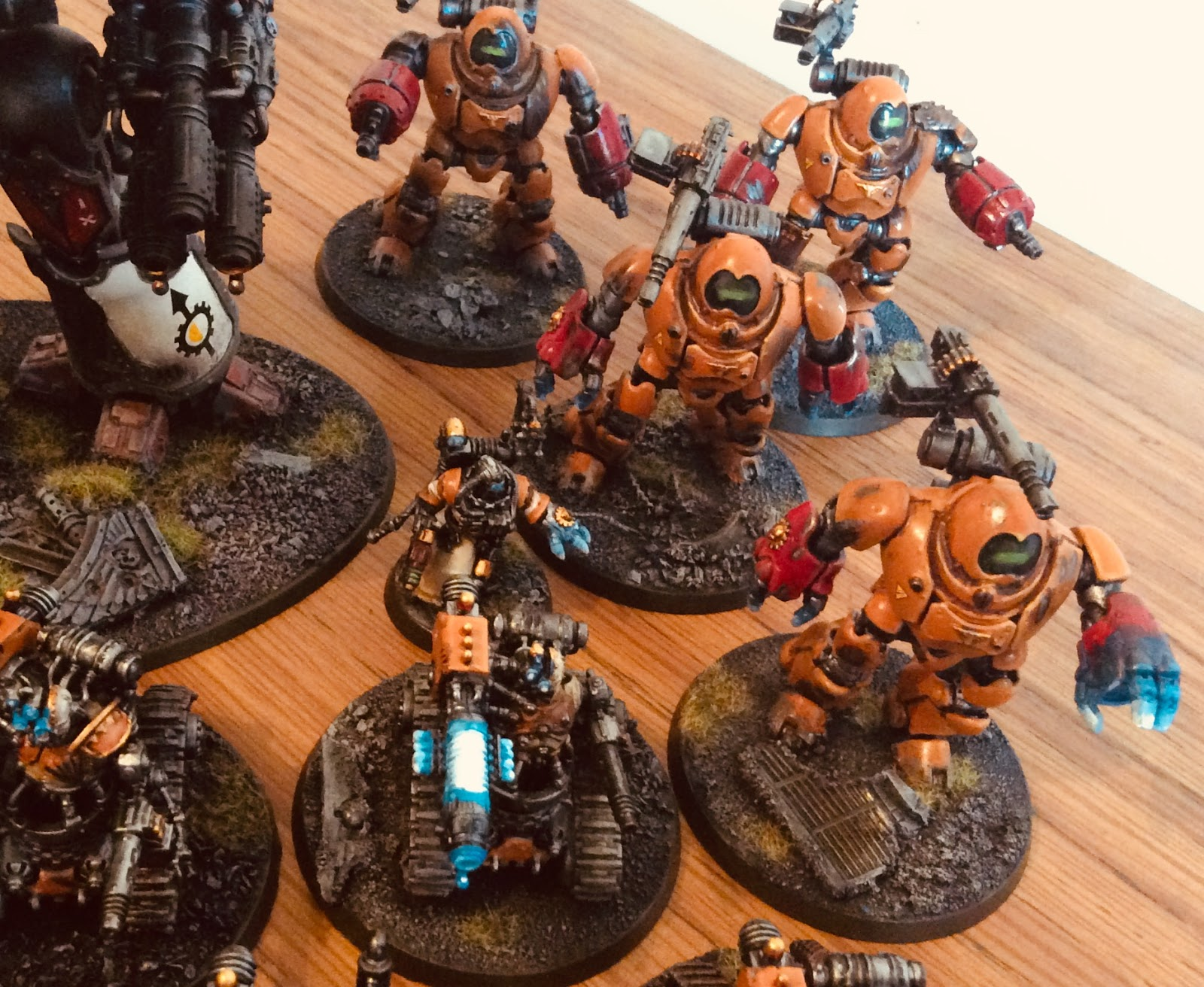 Redtoof's Mostly 40K Blog: Element Games Grand Slam - My List