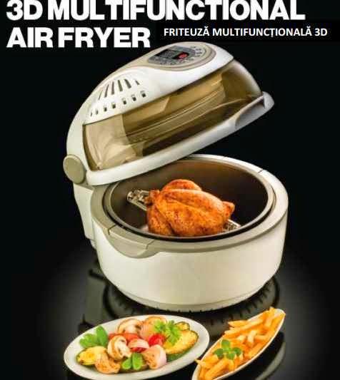 Pareri Friteuza Air Fryer Delimano retete rapide