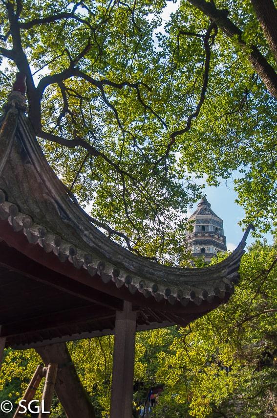 Suzhou, pagoda de la colina del tigre. China