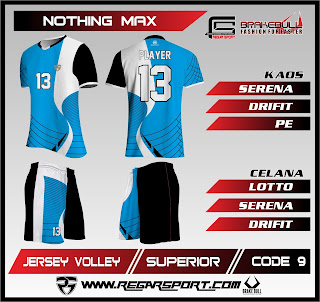 Kostum voli regarsport motif nothing max