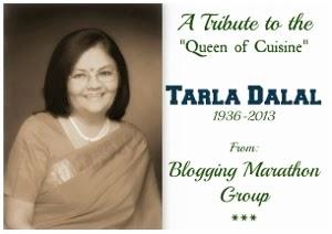 Creamy Cauliflower---A Tribute to Tarla Dalal
