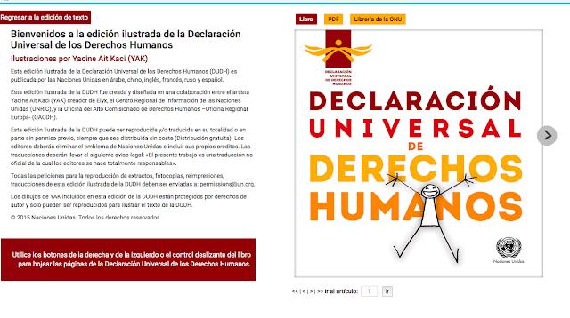 Derechos Humanos en el aula