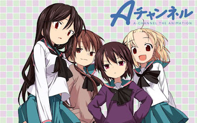 Download Anime A Channel  Episode 1-12 Subtitle Indonesia