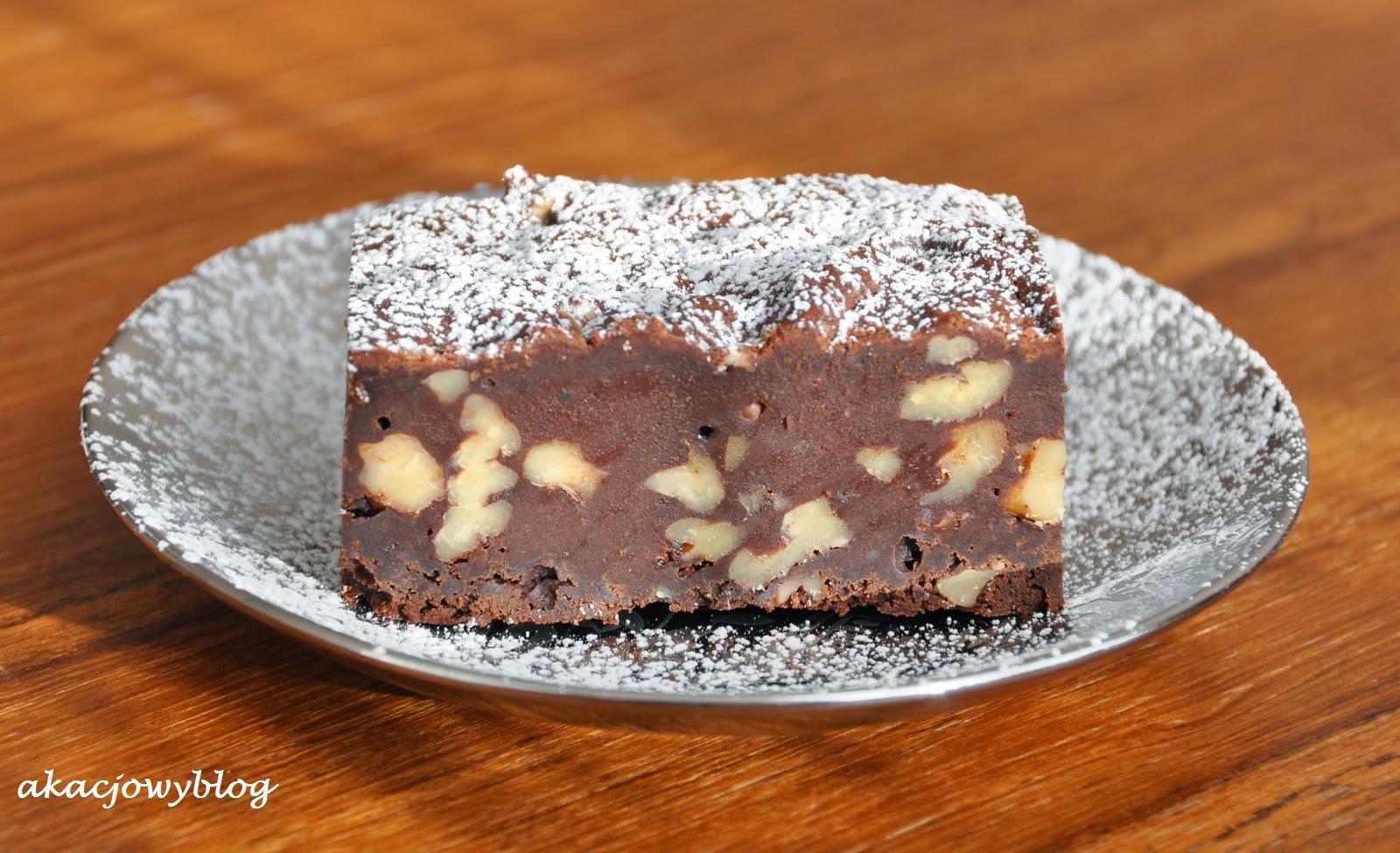 Brownie z przepisu D. Lebovitza.
