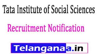 Tata Institute of Social Sciences (TISS) Recruitment Notification 2017