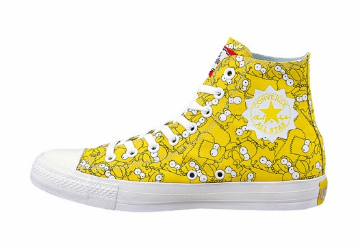CONVERSE x THE SIMPSONS COLLECTION   Der Simpsons Sneaker