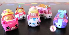 Cutie Cars S3 от Shopkins: машинки меняют цвет в воде, новый сезон 3 Шопкинс мини-автомобили для детей