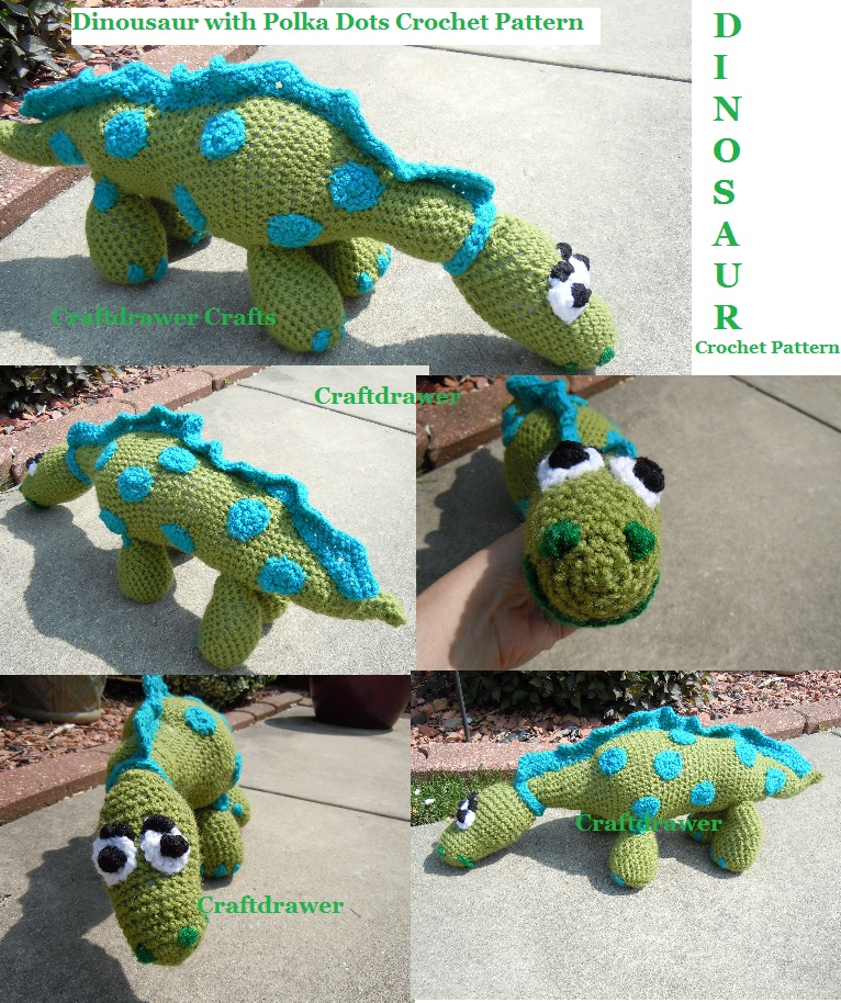 Crochet Dinosaur Patterns Learn About Crocheting Stuffed Toys