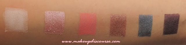 Sleek Oh So Special Palette Eyeshadow Swatches: Bow, Organza, Ribbon, Gift Basket, Glitz, Celebrate