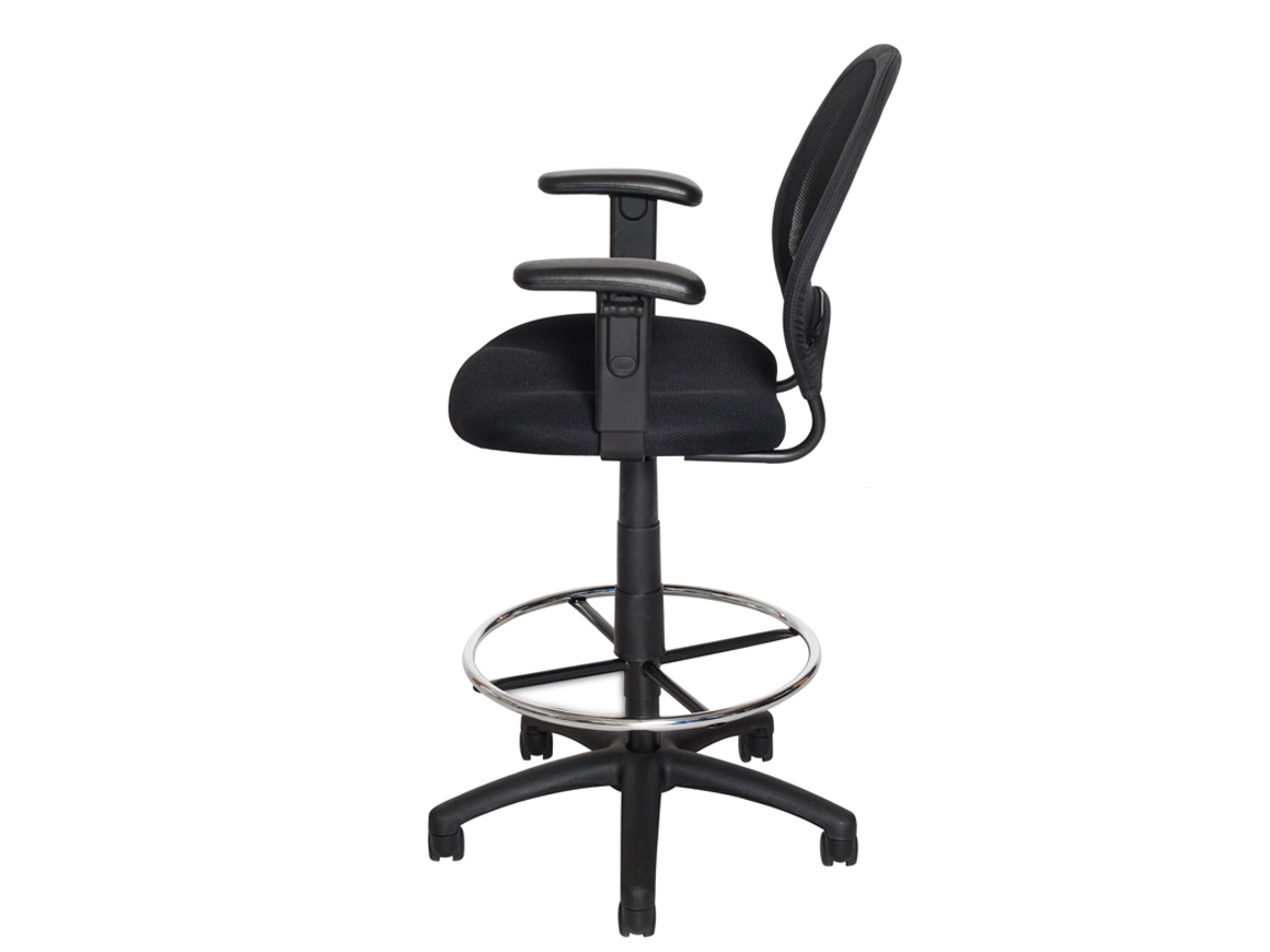 Deluxe Mesh Back Drafting Stool Ddts Stool Series