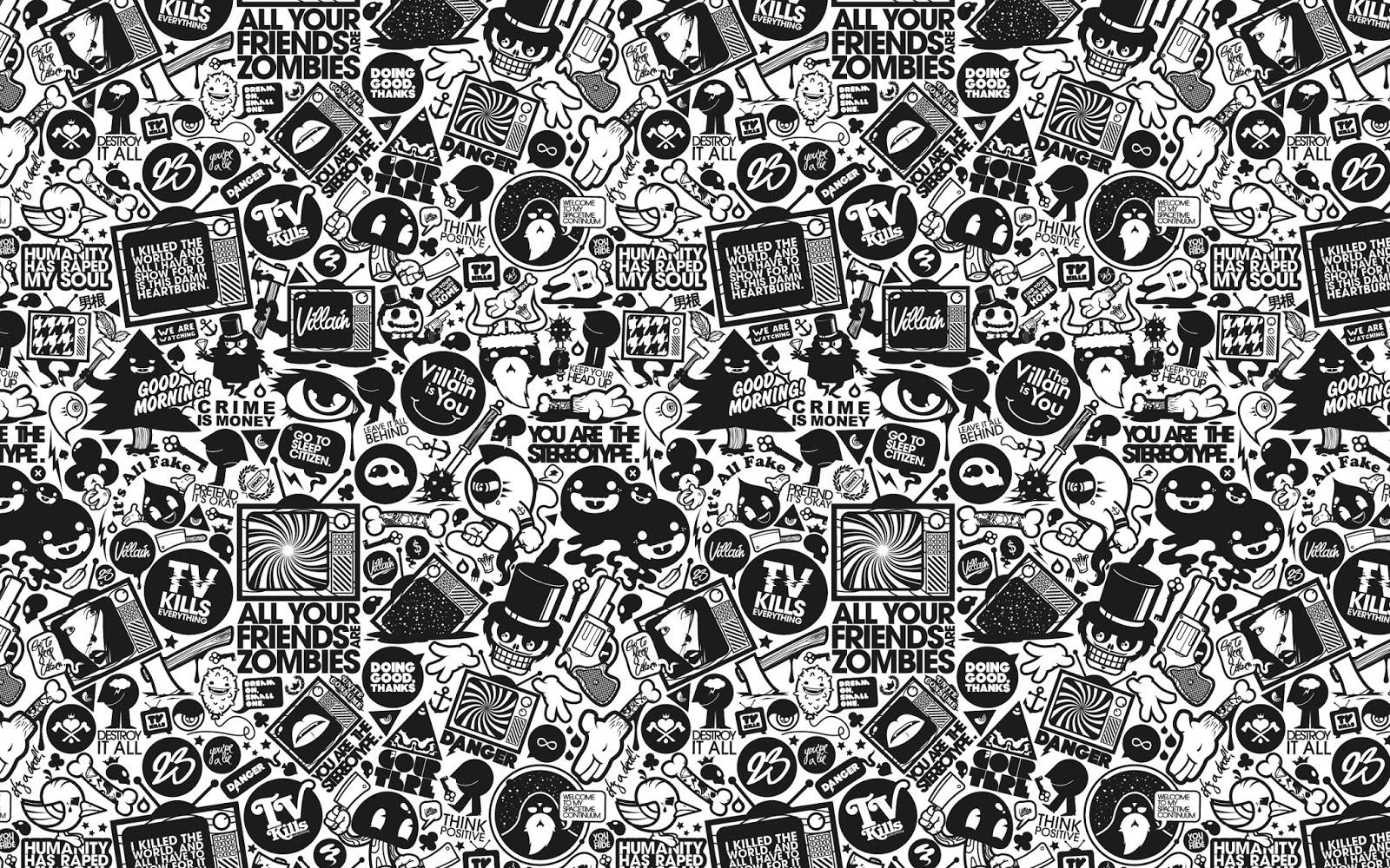 Fondo De Pantalla Abstracto Bolas Azules: Fondo De Pantalla Abstracto Emoticonos