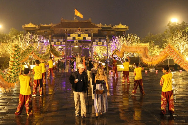 Hue Imperial Citadel officially to open at night from 22 April 2017 2