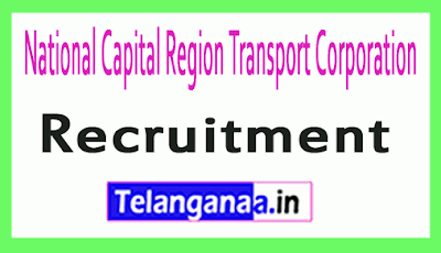 National Capital Region Transport Corporation NCRTC Recruitment Notification