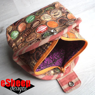 Ariel Clam Bag crafted by eSheep Designs