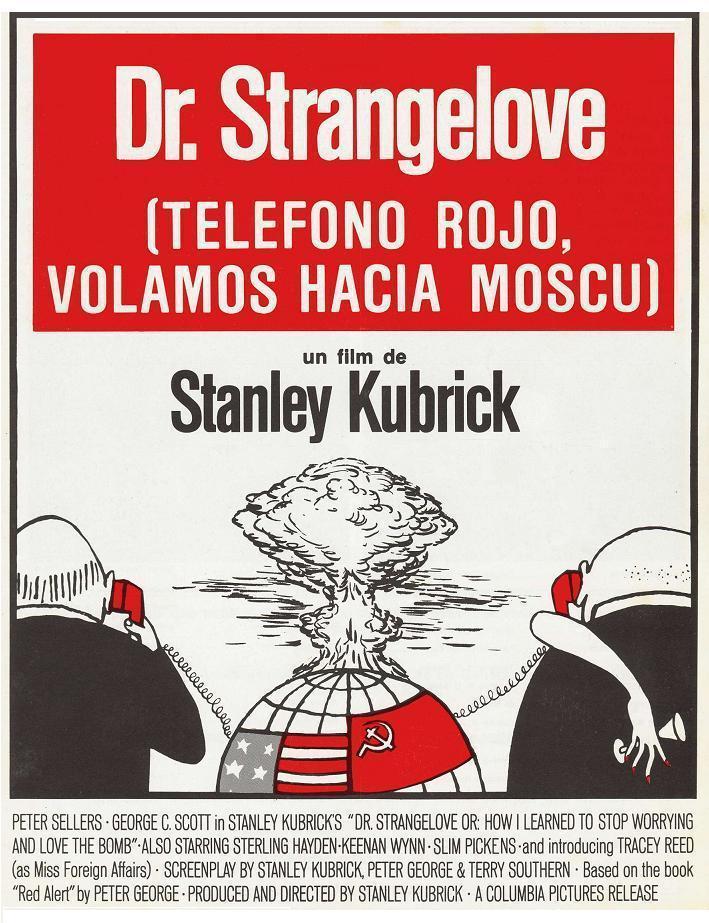 Resultado de imagen para Insólito / ¿Teléfono rojo? Volamos hacia Moscú (1964)