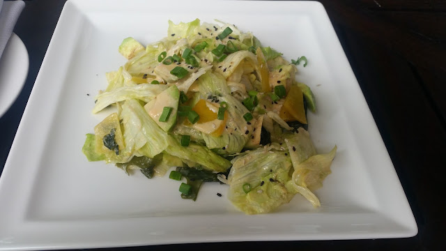 Avocado and Seaweed Salad