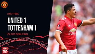 Manchester United vs Tottenham Hotspur 1-1