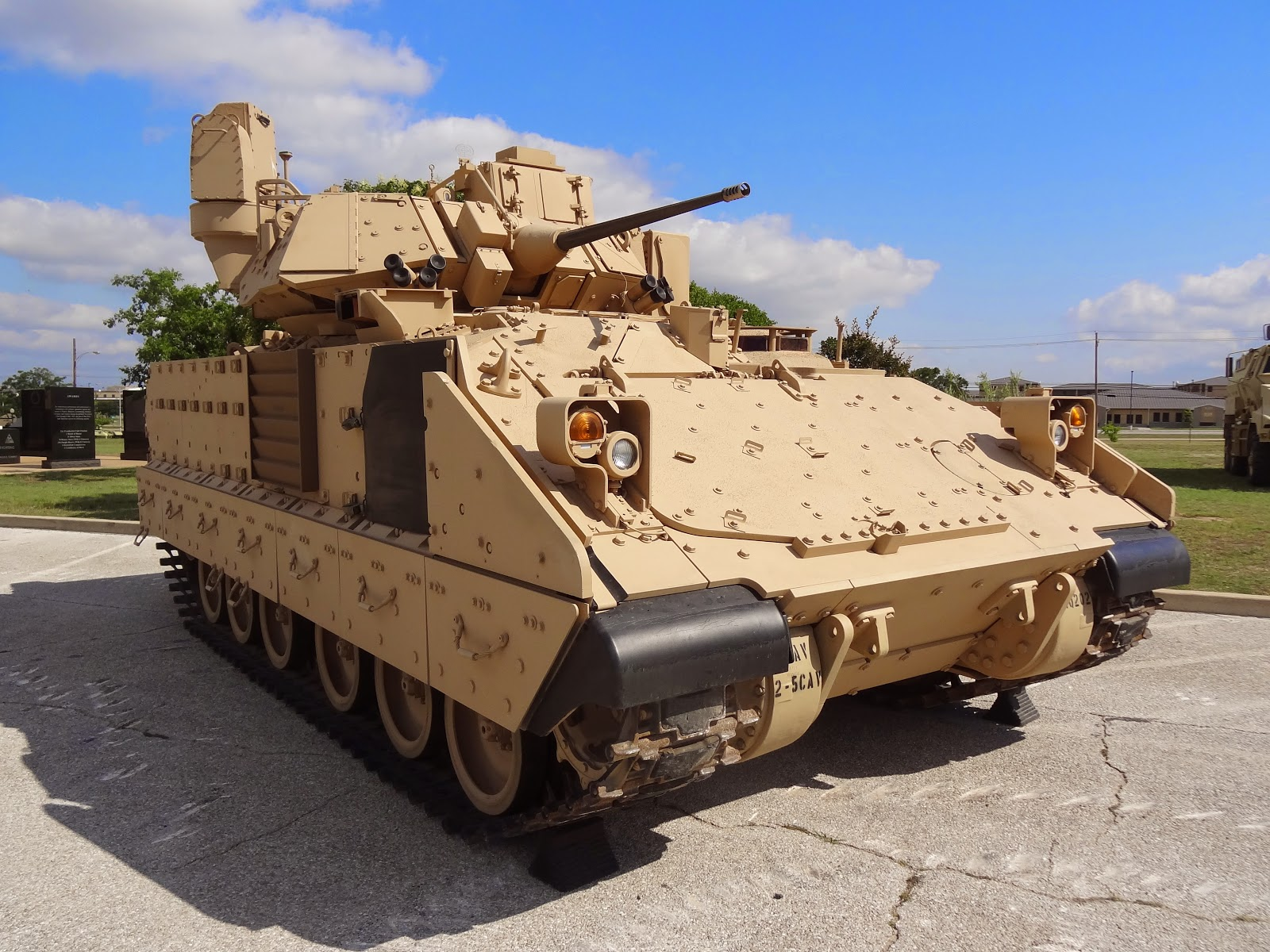 United States Ground Forces M2a3 Bradley
