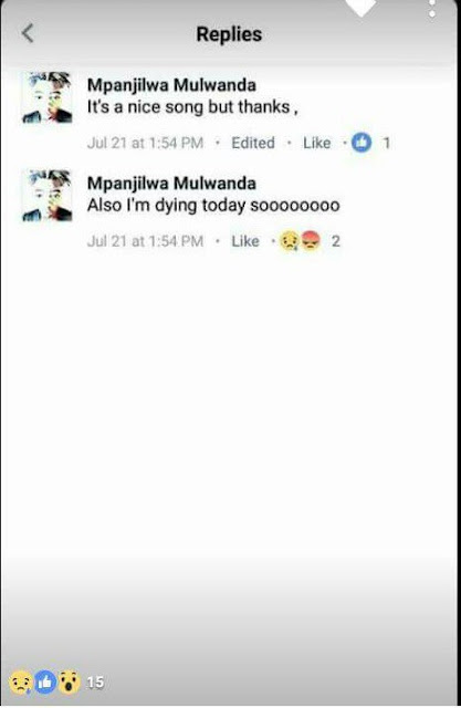 Check out Young  Zambian Musician That Committed Suicide 5
