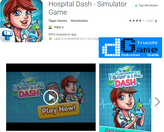 Trucchi Hospital Dash Mod Apk Android v1.0.6