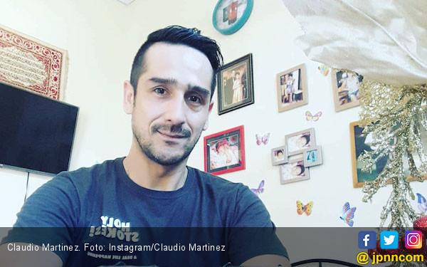 Claudio Martinez Positif Pakai Ganja